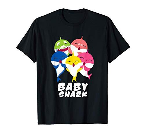 Lindo regalo para el bebé tiburón Doo Doo Camiseta