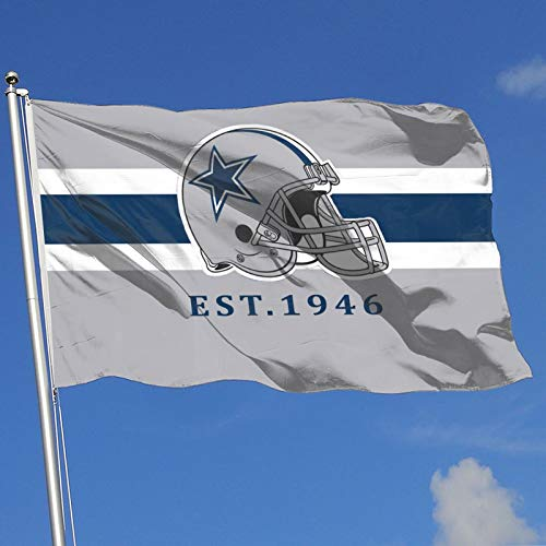 Dallas Cowboys Garden Flags House Yard Decoration Sports Banner for Home 3x5 FT…