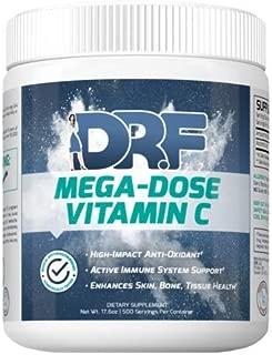 MEGA-DOSE Vitamin C by Dr. Farrah World Renown Medical Doctor   High-Impact Antioxidant   Active Immune System Support   Enhances Skin, Bone, Tissue Health