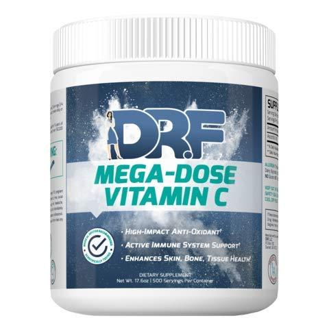 MEGA-DOSE Vitamin C by Dr. Farrah World Renown Medical Doctor | High-Impact Antioxidant | Active Immune System Support | Enhances Skin, Bone, & Tissue Health