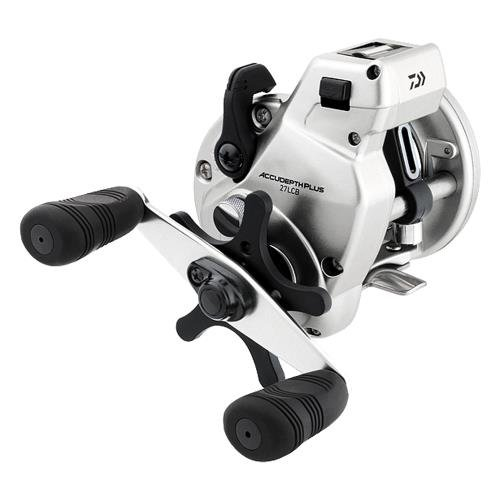 1B/B Accudepth Line Counter Reel, 360 yd/14 lb, Left Hand - Daiwa ADP27LCBL
