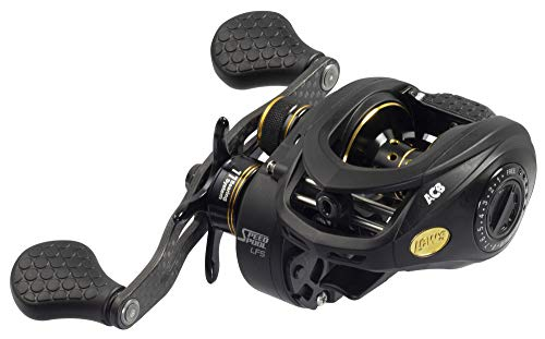 LEW'S Fishing Tournament Pro Speed Spool LFS Series, Baitcasting Reel, Fishing Reel, Fishing Gear and Equipment, Fishing Accessories (TP1SHA)