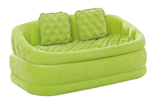 INTEX Airbed Divano Colorato Loveseat con Cuscini cm.157x86x69 68573