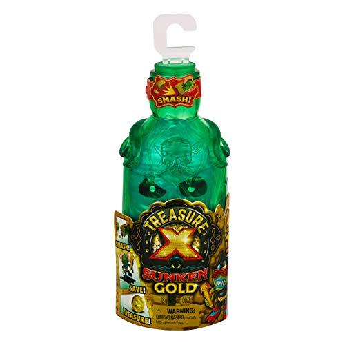 Treasure X Sunken Gold Bottle Smash - Action Figure & Treasure Inside. 10 Levels of Adventure, Multicolor (41577)