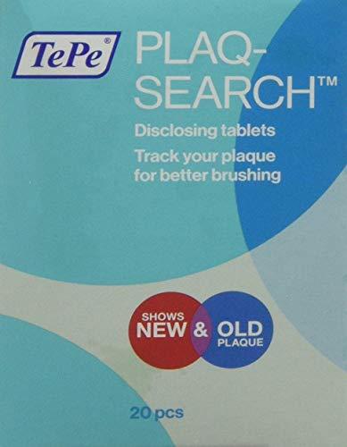 Plaqsearch Advanced - Kautabletten Zur Aufdeckung Von Zahnbelag Plaque Mit Fruchtgeschmack - 20 Tabletten