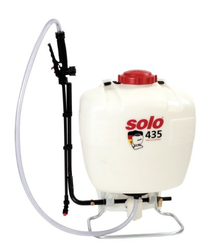 Solo 435 5-Gallon Professional Backpack Sprayer with Foldaway Handle & Assorted Nozzles