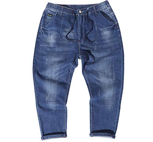 Bequem und weich Jeans Hose Sommer Big...