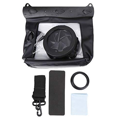 Wacent Estuche Impermeable HD para Carcasa subacuática Estuche para Bolsa Seca, Vision & Fotografía Accesorios duraderos Compatible con la cámara Canon SLR DSLR