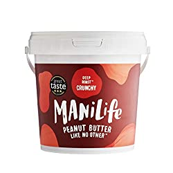 GREAT TASTE AWARD 2019 - The only Peanut Butter on Earth ever to win the highest level of 3* at the Great Taste Awards. USING ONLY THE FINEST PEANUTS FROM A SINGLE FARM IN ARGENTINA - Manilife source the best from people we know and love. Our hi-olei...