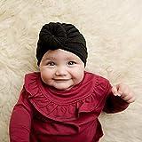 junengSO Baby Turban Haarknoten Hut Kleinkind Kinder Jungen Mädchen Indien Mütze Schöne weiche Neugeborene Kopfbedeckung Fotografie Requisiten Zubehör