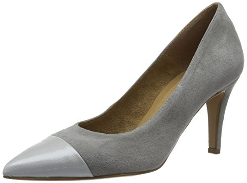 Tamaris Damen 22427 Pumps, Grau (Grey 200), 37 EU