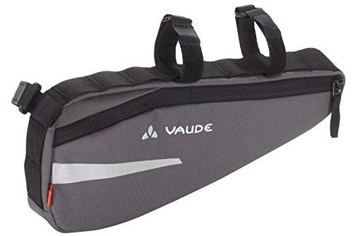 VAUDE Cruiser Bag Radtasche Rahmentasche (Iron, Einheitsgröße)