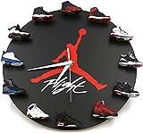 GFHN Orologio da Parete Mini Sneakers 3D, Orologio da Parete con Sneakers 3D dal Design Innovativo - Perfetto per la Cucina di casa e Il Soggiorno
