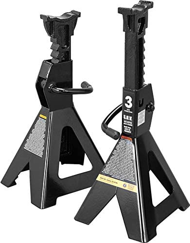 Torin AT43006B Steel Jack Stands Fits SUVs and Extended Height Trucks 3 Ton 6 000 lb Capacity product image
