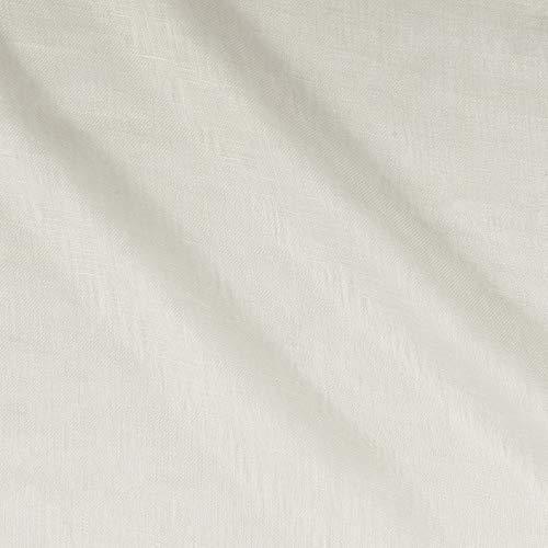 Kravet Windswept Linen Sheer White, Fabric by the Yard