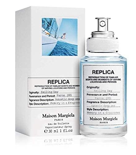 100% auténtico Maison Margiela Replica Sailing Day 30ml edt + 3 muestras de nicho - Gratis