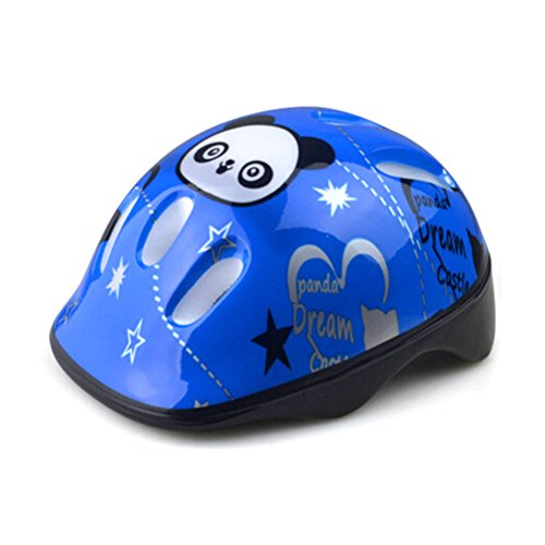 SevenMye Kinder Fahrrad-/Skateboard-Helm / Schutzhelm, blau
