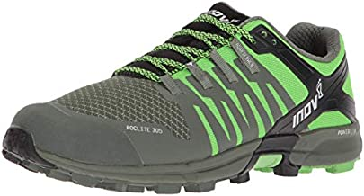 Inov-8 Roclite 305 Trail Running Shoes - Green/Black - Mens - US Men's 9