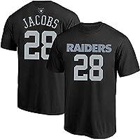 Outerstuff Josh Jacobs Las Vegas Raiders NFL Kids 4-7 Black T-Shirt