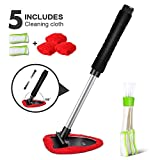 MASTERTOP Car Windscreen Cleaner Tools from Inside Window Glass Cleaning Tools with Extendable