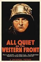 ポスター A4 西部戦線異状なし (1930) 光沢プリント