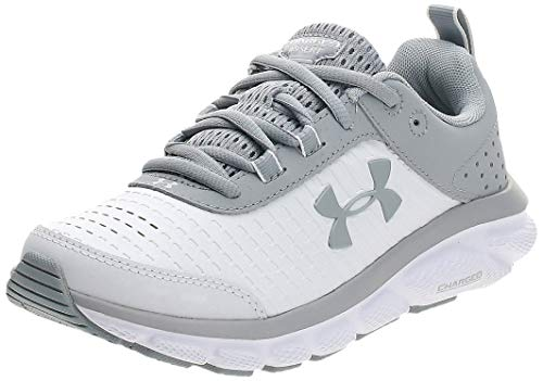 Under Armour Women's Charged Assert 8 Limited Edition Running Shoe, White (100)/White, 11