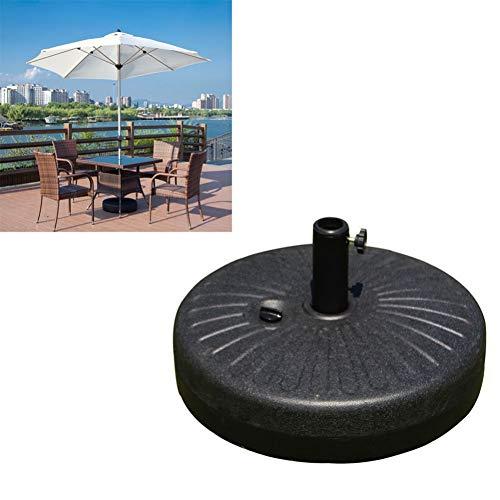 FANLU 1Pc 22L Große Sonnenschirm Basis Outdoor Wasserinjektion Sonnenschirm Basis Kunststoff Sonnenschirm Befestigungsständer Für Strand Outdoor
