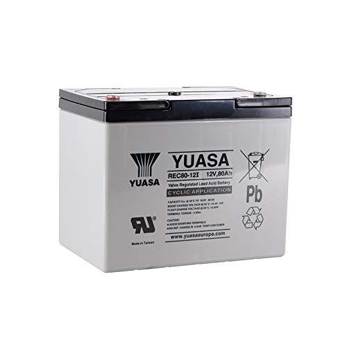 Yuasa - 12V 80Ah REC80-12í Yuasa batería - REC80-12I