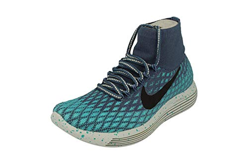 Nike Womens Lunarepic Flyknit Shield Running Trainers 849665 Sneakers Shoes (UK 4 US 6.5 EU 37.5, Ocean Fog Blue 400)