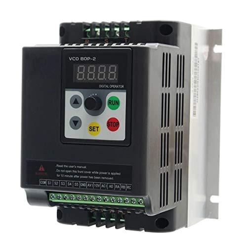 N\A Coche inversor de energía 3 Fase de frecuencia Variable VFD Controlador de Velocidad Motor de inversión Convertidor de Unidades 1.5KW 380V