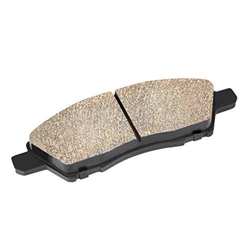 ben-gi 4 PC/Sistema de cerámica Zapatos Pastillas de Freno del Coche del Kit de Disco de Freno de Repuesto Piezas de Marzo de 2010-