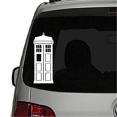 Tardis Wandtattoo Doctor Who Sticker Doctor Who Tardis Gestanzte Vinyl Aufkleber Für Fenster Auto Lkw Notebook Virtuell Ein