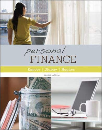 Personal Finance (Mcgraw-hill/Irwin Series in Finance,...