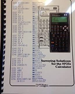 Surveying Solutions for the Hp35s Calculator by D'Zign