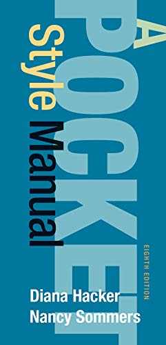 Compare Textbook Prices for A Pocket Style Manual Eighth Edition ISBN 9788925598406 by Hacker, Diana,Sommers, Nancy