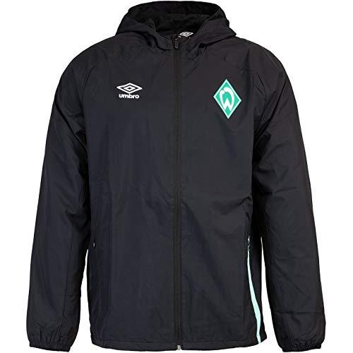 UMBRO Werder Bremen Regenjacke Jacket (3XL, Black)