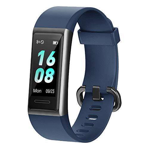 [Neuestes Modell] Fitness Armband, LIFEBEE Fitness Tracker mit Pulsmesser, IP68 Wasserdicht Smartwatch Aktivitätstracker 14 Trainingsmodi Fitness Uhr Sportuhr Schrittzähler für Damen Herren