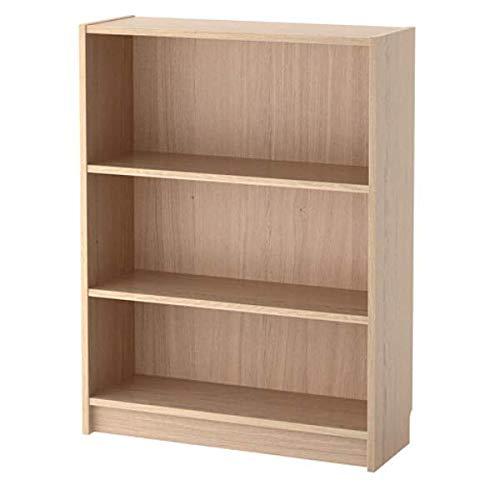 BILLY IKEA Bücherregal Eichenfurnier weiß lasiert; (80x28x106cm)