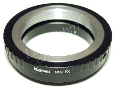 Kernel ライカ L39マウントレンズ-富士フィルム Xマウントアダプター 【ネットショップ ロガリズム】M39-FX