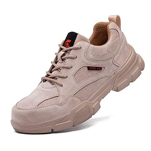 Fnho Zapatillas Deportivas para Correr,Zapatos Deportivos para Correr,Calzado Ligero y Transpirable, Calzado de protección para montañismo al Aire Libre-B_38