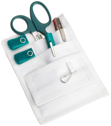 ADC - 117TL Pocket Pal III Medical Accessories Nurse Kit, Includes MiniMedicut Shears, Adlite Plus Disposable Penlight, and 3-Color Pen, Teal