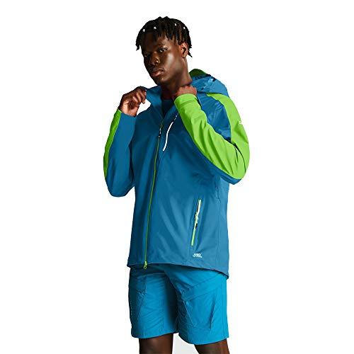 Dare 2b Jacket Veste Technique Haute Performance Homme Diluent, FryRed/Ocean, FR : L (Taille Fabricant : L)