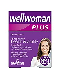 Vitabiotics Wellwoman Plus Third Best multivitamin for Women