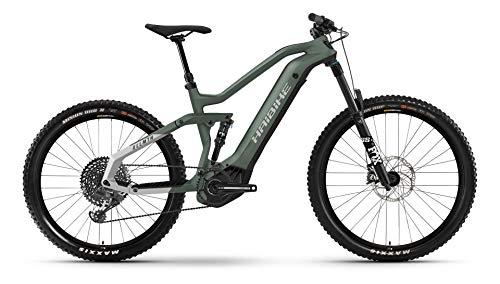 Winora Haibike AllMtn 6 Yamaha Elektro Bike 2021 (S/41cm, Bamboo Green/Cool Grey Matte)