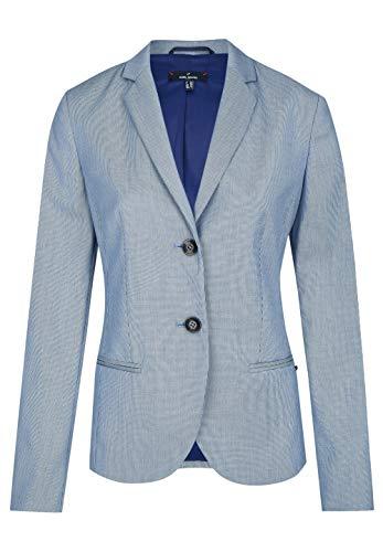 Daniel Hechter Damen Blazer Anzugjacke, Blau (Navy 690), (Herstellergröße: 34)