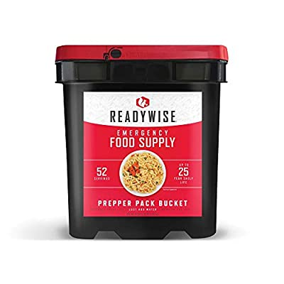 Wise Company, Emergency Food Supply, Drink and Entree Variety, 52 Servings