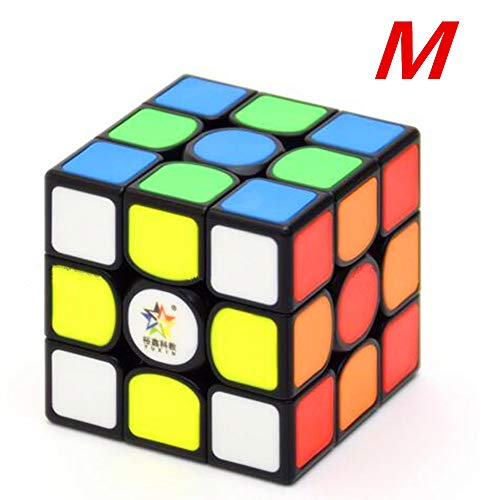 CuberSpeed Yuxin Kylin 3x3 Black Tiles Magnetic Cube Yuxin 3x3x3 stickerless Speed Cube (Magnetic Version)