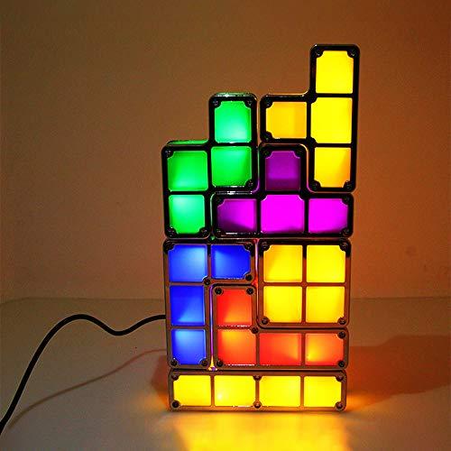 lampada tetris GFEU Lampada a forma di Tetris
