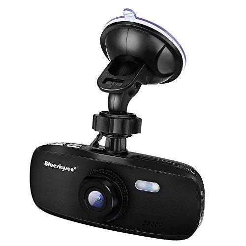 Blueskysea G1W-CB Capacitor Model Dash Camera Stealth Vision Dashboard Dash Cam Full HD 1080p 30fps NT96650 + AR0330