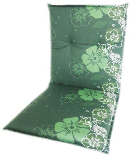 Niederlehner Sitzkissen mit Blumen Motiv in Mehreren grün Tönen